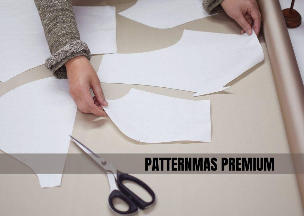 Foto de patrones sobre tela