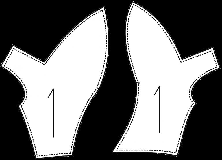 patrón de una blusita con lazo